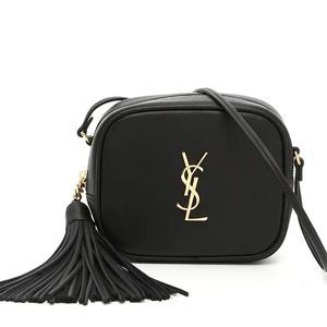 YSL Black Blogger Bag